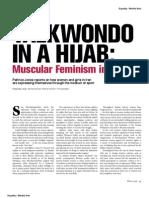 Taekwondo in a Hijab