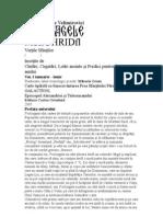 Proloagele de La Ohrida Vol 1 Sf Nicolae Velimirovici