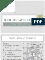 Equilibrio ácido-base UCI
