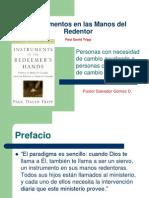1 Instrumentos en Las Manos Del Redentor