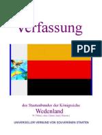 Verfassung vom Staatenbund der Königreiche Wedenland