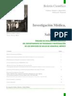 Boletín de Investigación Médica, Bioética y Salud Pública SESVER Juan Carlos Fuentes Purón