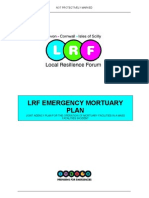 Lrf Emergency Mortuary Plan - d1.0 21.01.09 Draft Web
