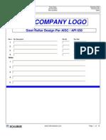 API 650 Rafter Design