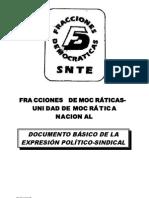 Fracciones DemocrÁticas Documento Basico