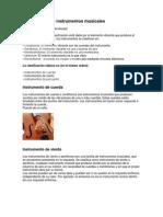 Clasificación de instrumentos musicales