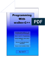 Programming With WxDev-C++