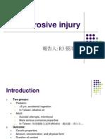 Corrosive Injury 20061227-1