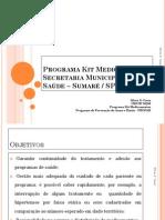 Programa Kit Medicamentos Sílvia