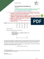 DOCUMENTO Guía 2 Distribución de frecuencias por intervalos