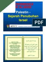Palestin - Sejarah Penubuhan Israel