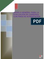 4 Modelo General Para La Evaluacion de Carreras Con Fines de Acreditacion