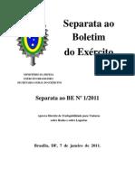 Sepbe01-11_diretriz de Trafegabilidade Para Viaturas Sobre