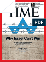 Why Israel Cant Win