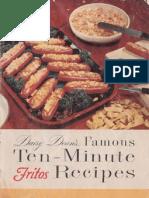 1954 Fritos recipe booklet