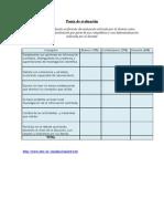 Unidad Didactica Pauta de Evaluación