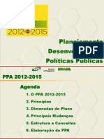 Apresentacao Novo PPA 2015-2015 Governo Federal