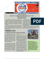 Reporte anual Fecopa 2012 por Ronald Alan