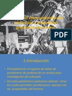 Correlacion Ente Parametros de Perforacion y Propiedades Geomecanicas Del Terreno