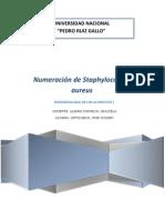 PRACTICA N°9 Staphylococcus aureus