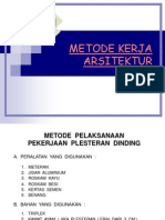 Metode Kerja Arsitektur