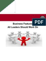 Skills All Leaders Should Work On