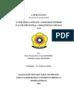 Tumor Medula Spinalis + Paraparese Inferior Flaccid Tipe Sentral + Inkontinensia Urin Dan Alvi