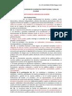 LA PARTICIPACIÓN CIUDADANA EN LA NORMATIVA CONSTITUCIONAL Y LEGAL DEL ECUADOR