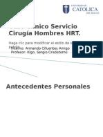 Caso Clínico Servicio Cirugía Hombres HRT terminado