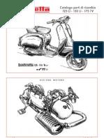 Catalogo Partes de Recambio Lambretta LI