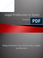 Legal Profession in Spain