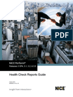 Health Check Reports User Guide - NP - 3 SP4 - 3.1 -3.2 - 3.5