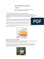 Sintrome Del Codo de Tenista (EPICONDILITIS)
