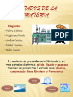 Estados de La Materia-quimica