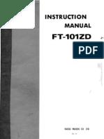 Ft101zd Mk-III Manual