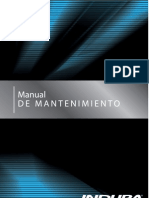 Manual de Mantenimiento INDURA