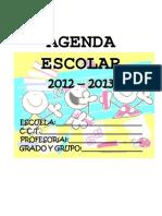 AGENDA 2012-2013