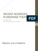 Recent Advances in Migraine therapy