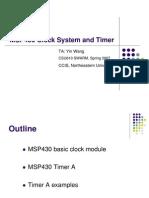 MSP430 Clock Timers