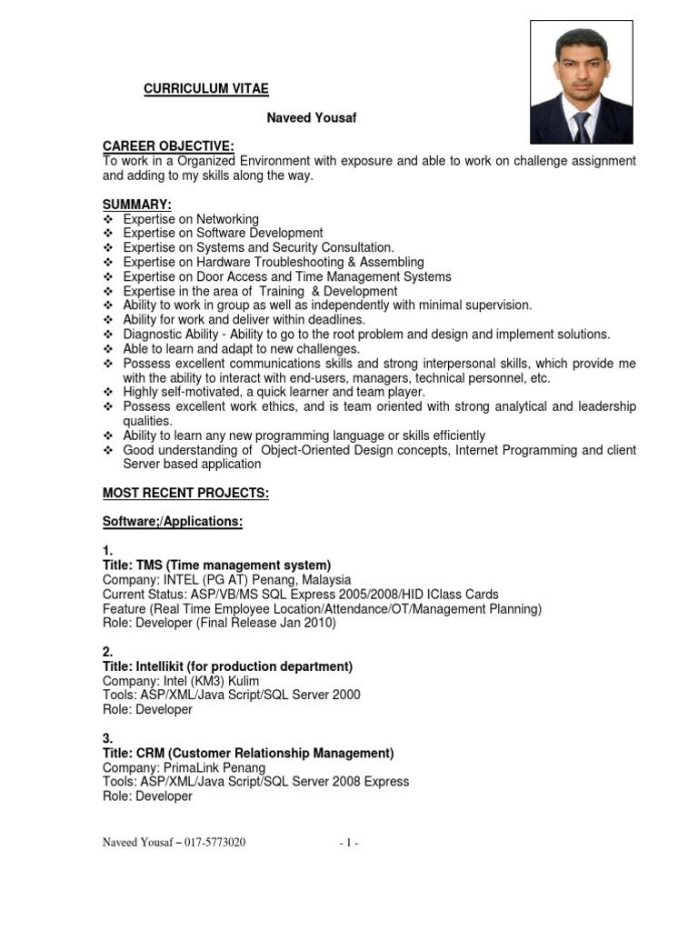 NY Mresume | Customer Relationship Management | Microsoft
