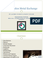 London Metal Exchange Presentation