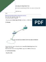 Cấu hình logging xuất ra một syslog server dùng Router Cisco
