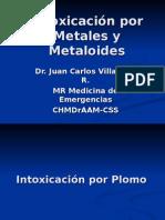 Intoxicación Por Metales y ides