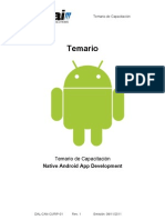 Temario Curso Android App Development