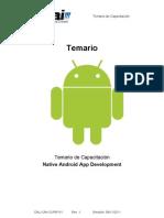 Temario Curso Android App Development