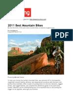 2011 Best Mountain Bikes