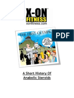 A Short History of Anabolic Steroids