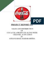 coca cola sales and distribution