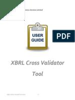 XBRL - Cross Validation User Manual