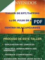 Eft Tapping 14 de Julio de 2012 Isla Lanzarote
